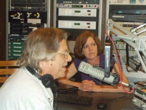 Tom and Andrea at WFNT